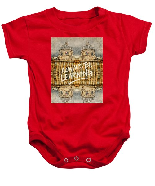 Always Be Learning Institut De France Paris Architecture Baby Onesie