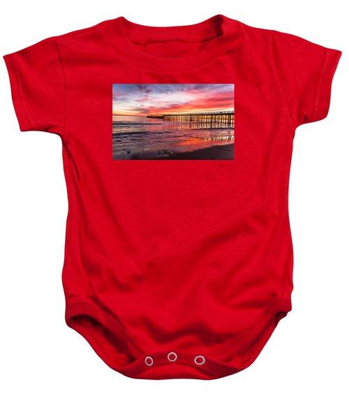 Seacliff Sunset Baby Onesie