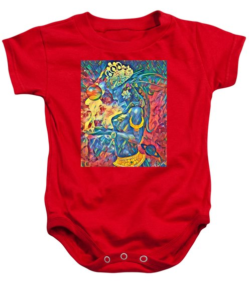 Answering The Call Baby Onesie