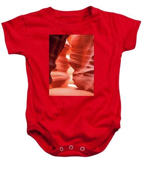 Antelope Canyon Chamber Baby Onesie
