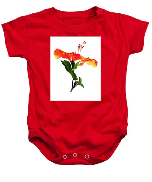 Art Orange Baby Onesie