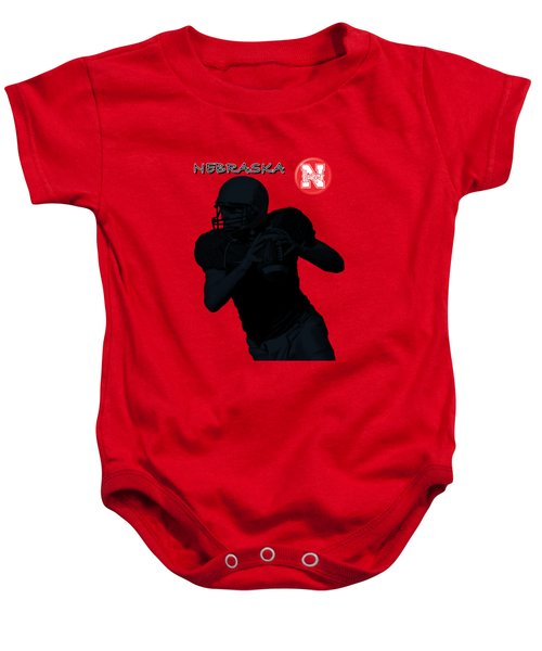 Nebraska Football Baby Onesie by David Dehner