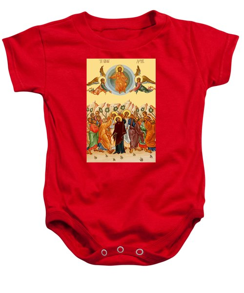 Ascension Of Jesus Christ Baby Onesie