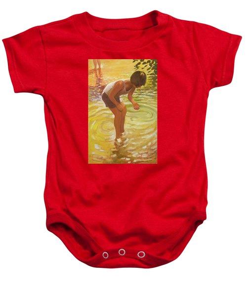 Athena Wading Baby Onesie