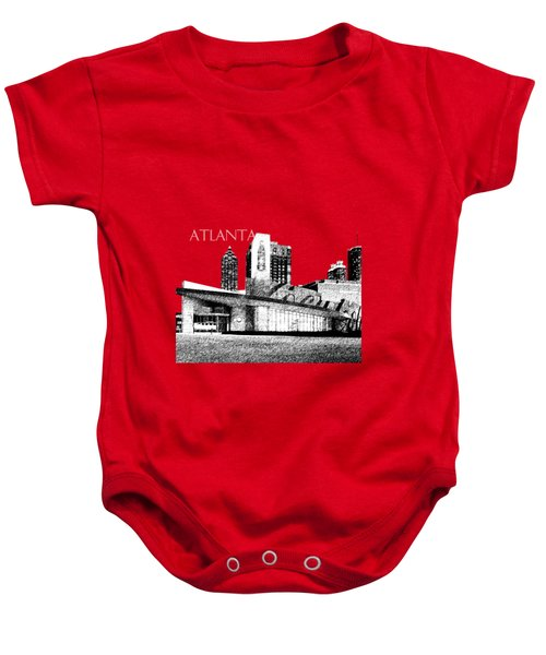 Atlanta World Of Coke Museum - Dark Red Baby Onesie