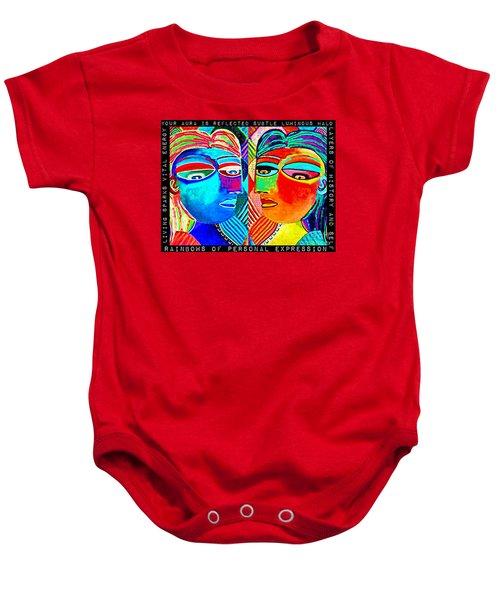 0 Aura Energy Refection Baby Onesie
