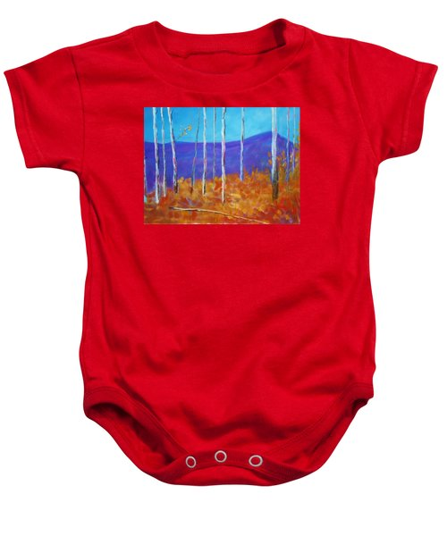 Autumn In Cloudcroft Baby Onesie