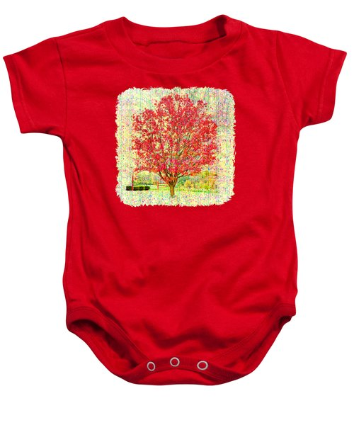 Autumn Musings 2 Baby Onesie by John M Bailey