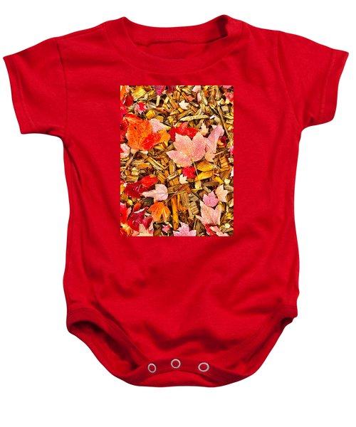 Autumn Potpourri Baby Onesie