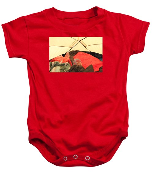 Backpacking Moments Baby Onesie