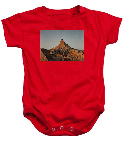 Badlands At Sunrise Baby Onesie