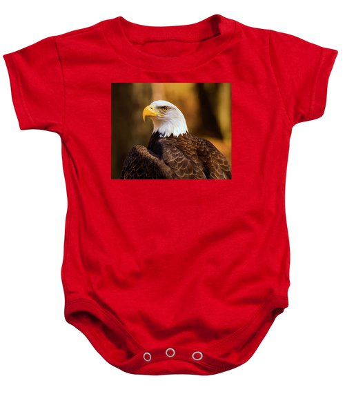 Bald Eagle 2 Baby Onesie