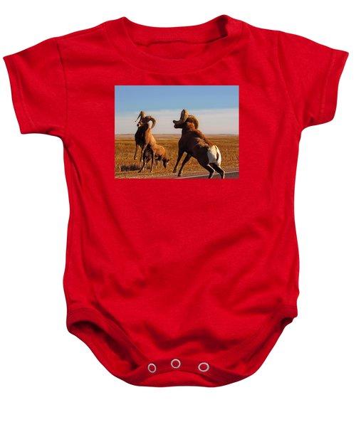 Bang Of The Bighorn Baby Onesie