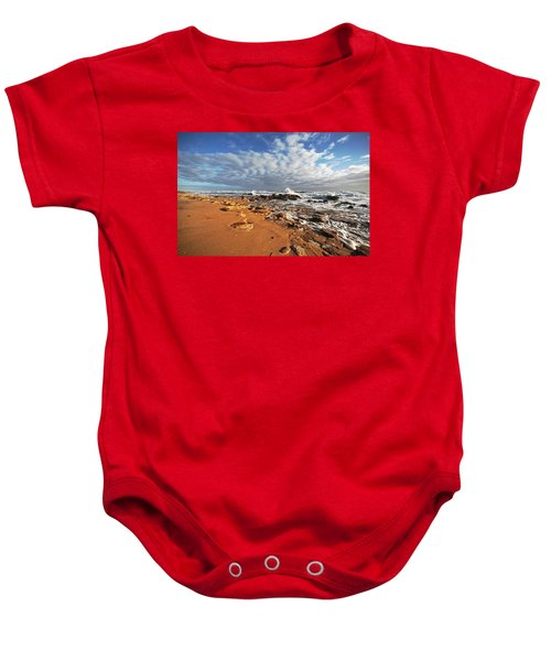 Beach View Baby Onesie