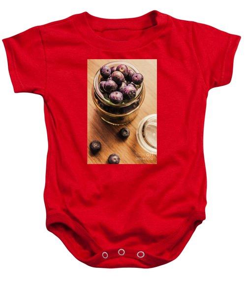 Berry Jam Baby Onesie