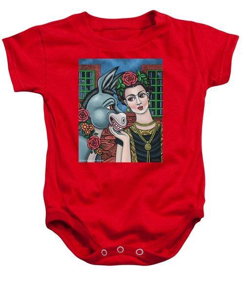 Beso Or Fridas Kisses Baby Onesie