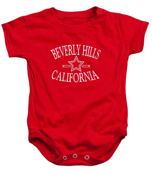 Beverly Hills California Design Baby Onesie