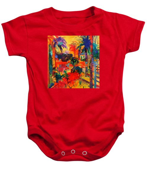 Beverly Hills Baby Onesie by Peter Graham