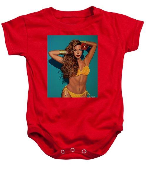 Beyonce 2 Baby Onesie