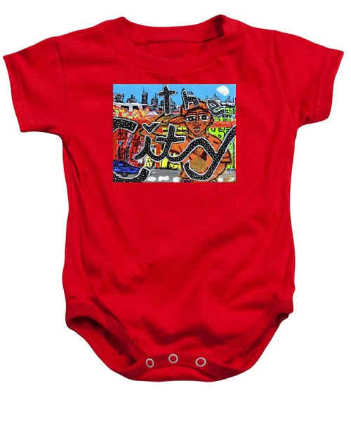 Big Cities Baby Onesie