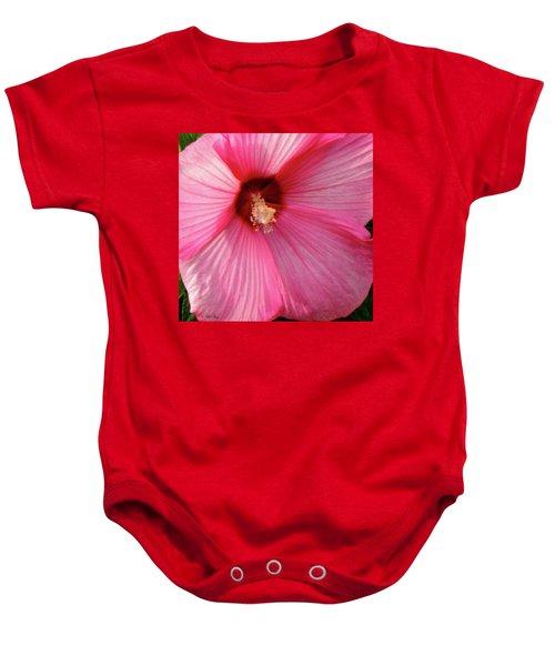 Big Pink Love Baby Onesie