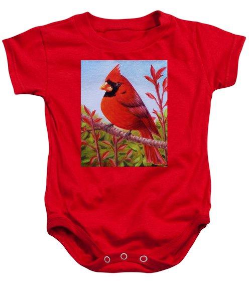 Big Red Baby Onesie