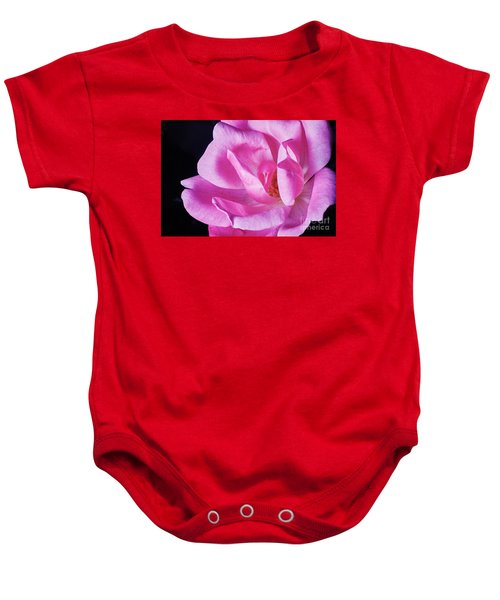 Blooming Rose Baby Onesie