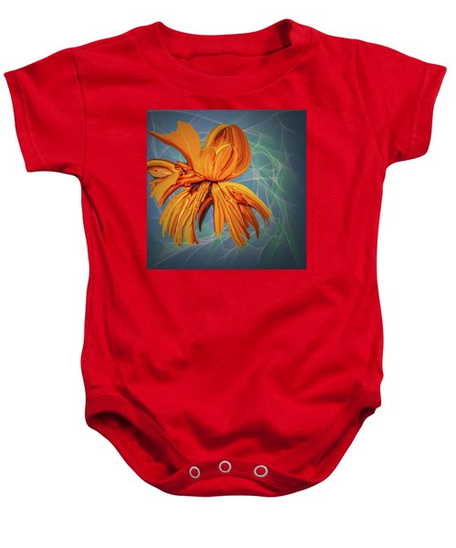 Blue And Yellow #h6 Baby Onesie