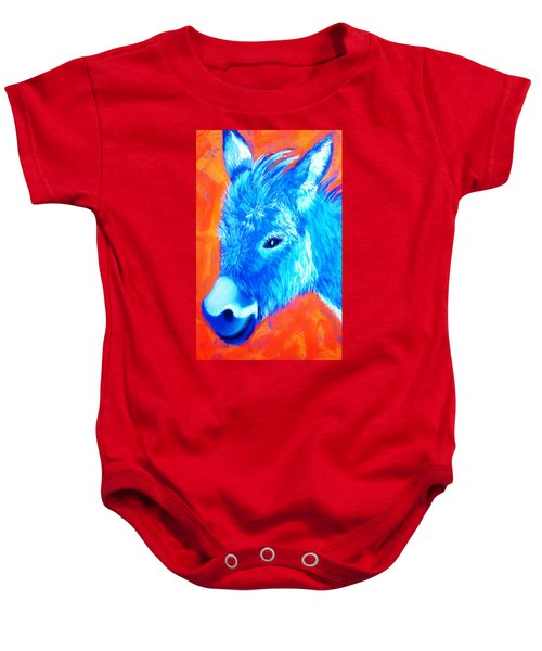 Blue Burrito Baby Onesie