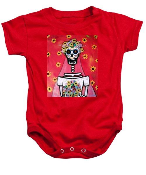 Bridezilla Dia De Los Muertos Baby Onesie
