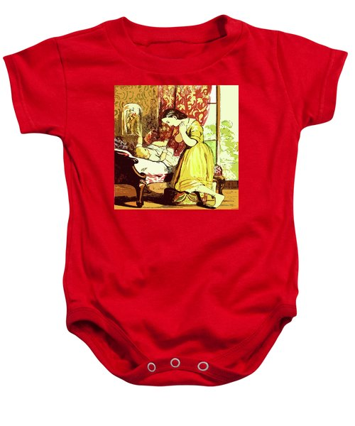 Brother And Sister Baby Onesie