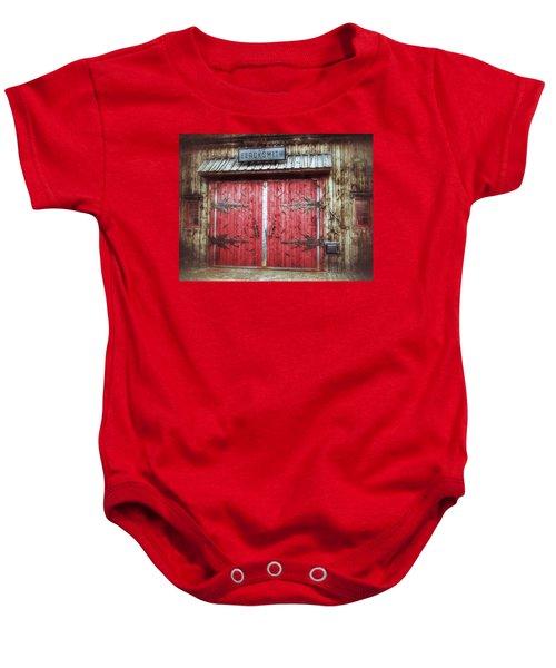 Buena Vista Blacksmith Baby Onesie