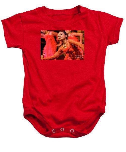 Burmese Dance 1 Baby Onesie