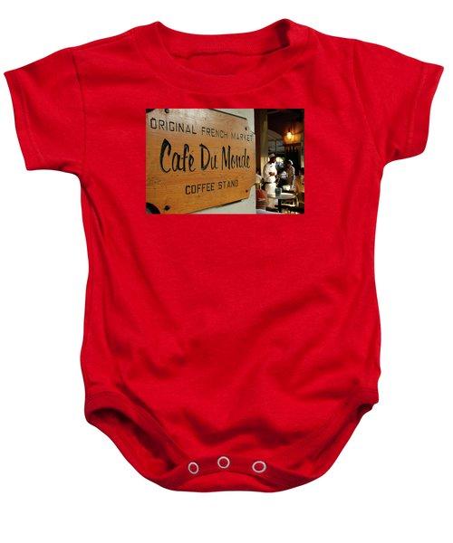 Cafe Du Monde Baby Onesie