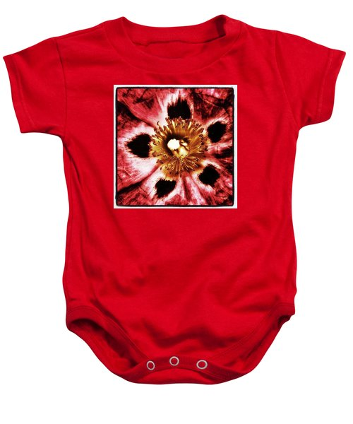 Baby Onesie featuring the photograph Can You Guess What Flower? Hints: It's by Mr Photojimsf