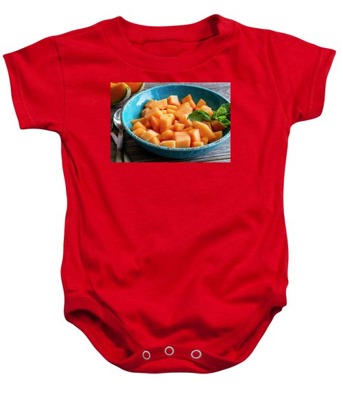 Cantaloupe For Breakfast Baby Onesie