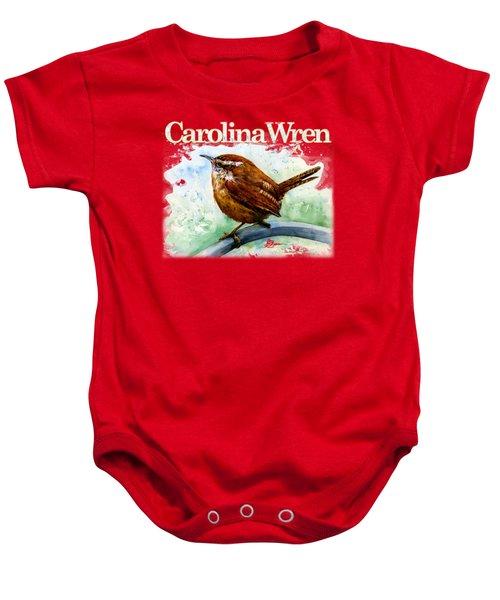 Carolina Wren Shirt Baby Onesie