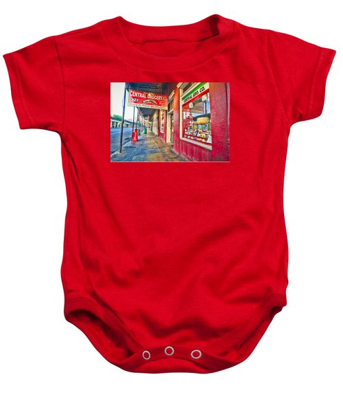 Central Grocery And Deli In The French Quarter Baby Onesie