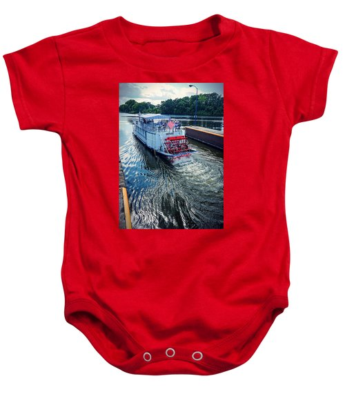 Champlain Canal Patriot Baby Onesie
