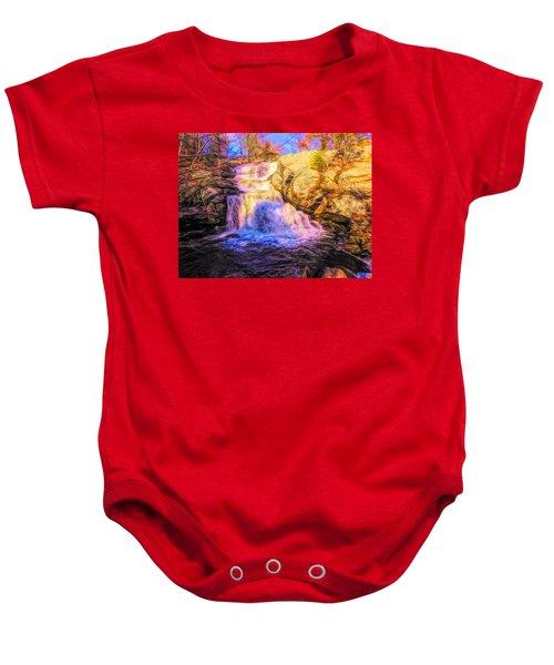 Chapman Falls Connecticut Baby Onesie