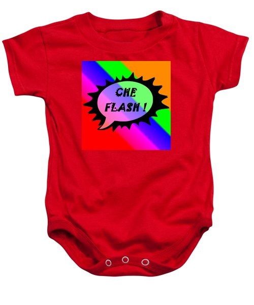 Che Flash Baby Onesie
