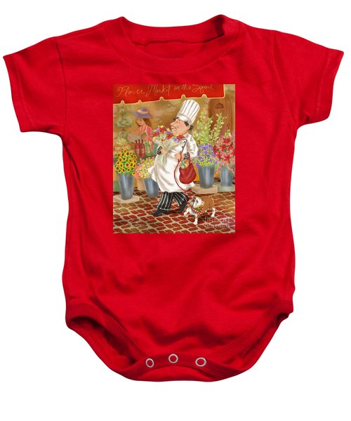 Chefs Go To Market II Baby Onesie