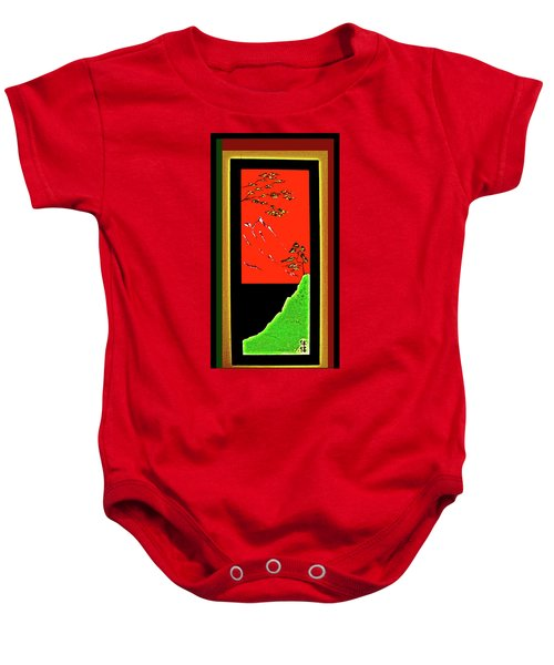 China Island Trees Baby Onesie