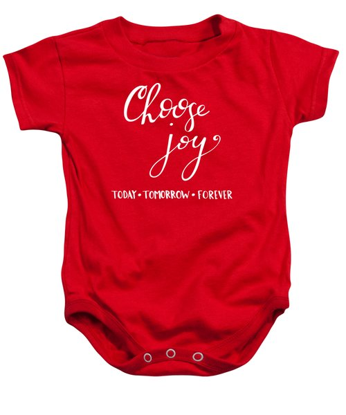 Choose Joy Baby Onesie