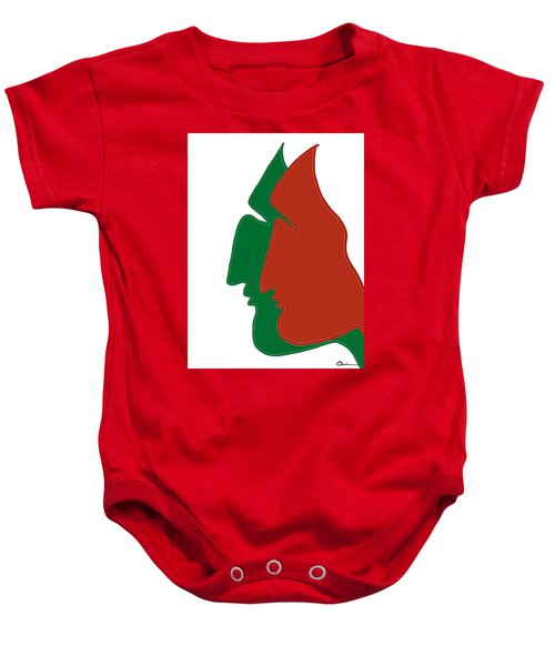Christmas Together Baby Onesie