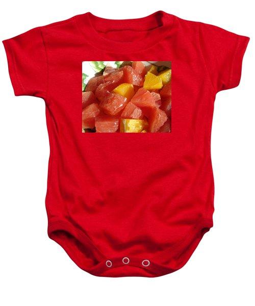 Citrus In Winter Baby Onesie