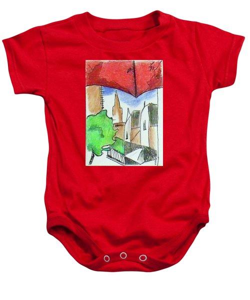 Cityscape 963 Baby Onesie