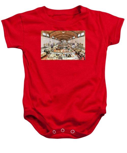 Cleveland Westside Market  Baby Onesie