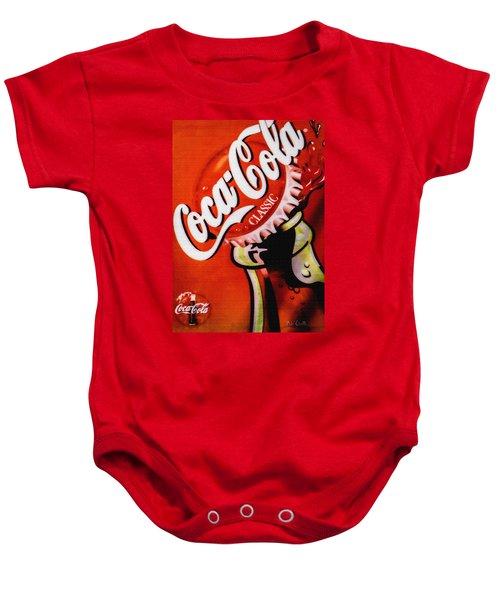 Coca Cola Classic Baby Onesie
