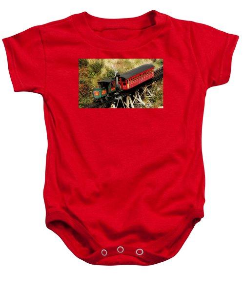 Cog Railway Vintage Baby Onesie